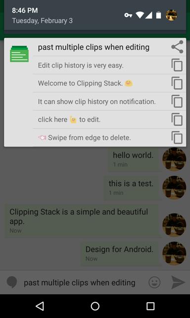 Clipping Stack ScreenShots02